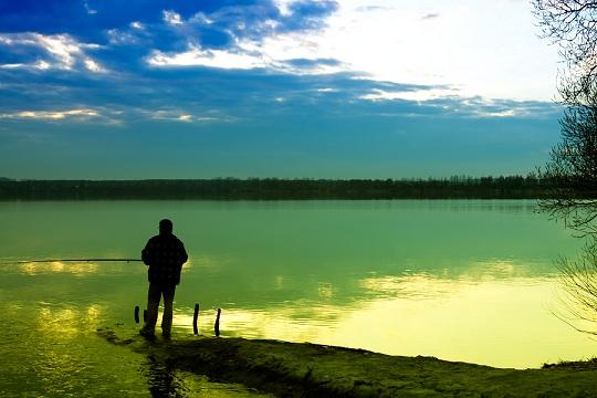 pesca a lago