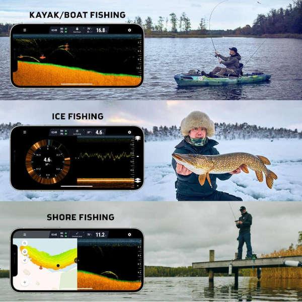 ecoscandaglio da pesca